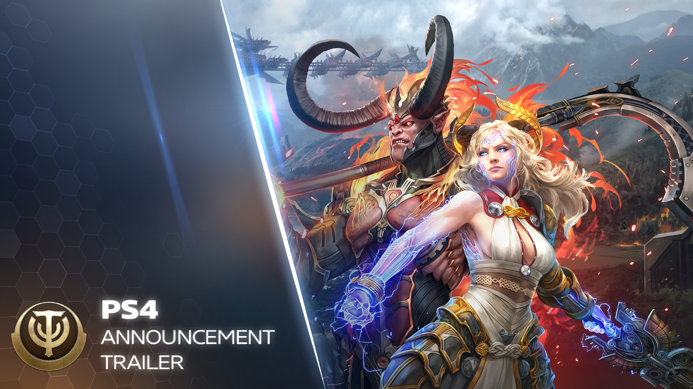 My.com Press Room — Action MMO Skyforge launching on Playstation 4 ...