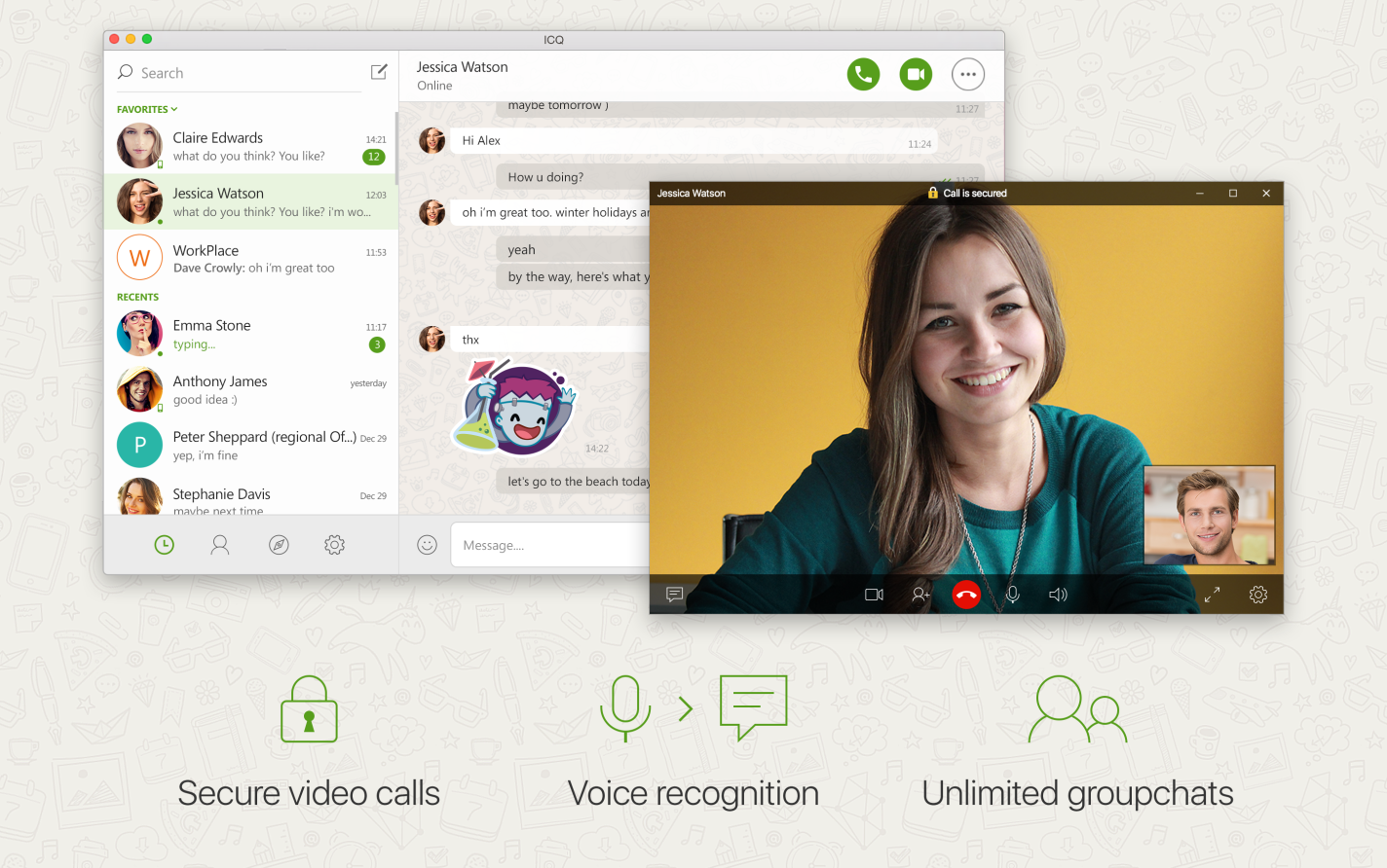 Encrypted Calls And Live Chats In The New Icq For Mac